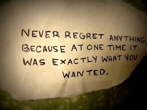 healthylifestyleplus.com positive message no regrets