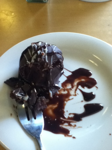 Chocolate Truffle at Mondos Cafe Whangarei
