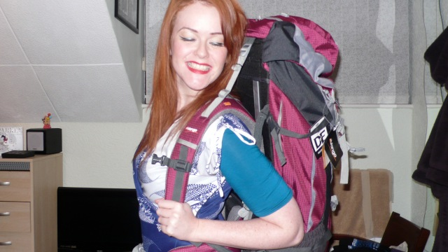 Backpack Love Gohemian Pin-Up