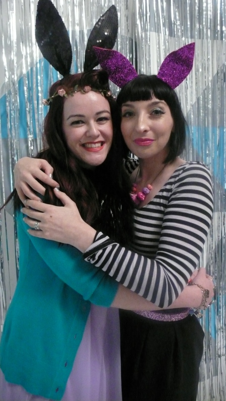Me and Gala Darling London Blogcademy