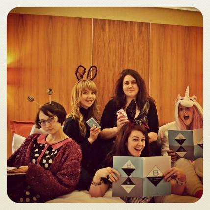 Blogcademy London Girls Studying