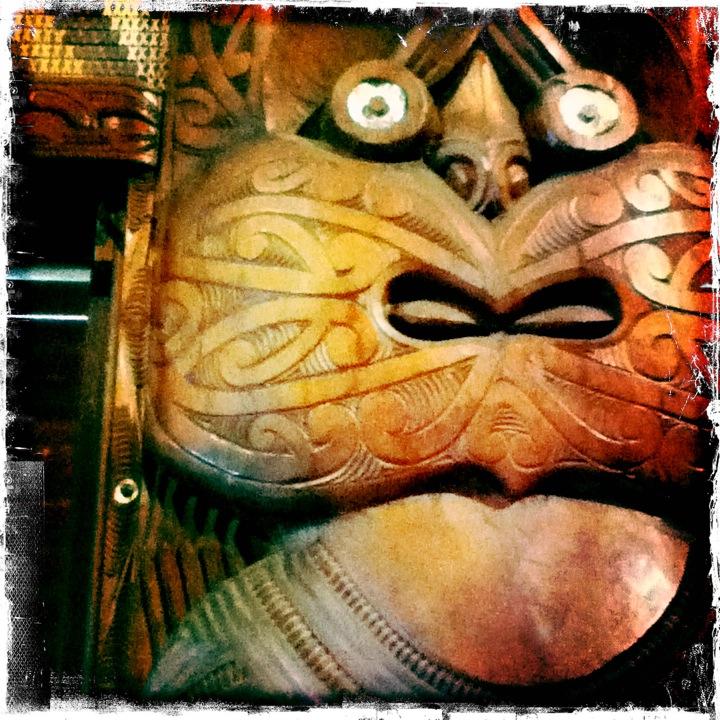 Maori Carving Hipstamatic
