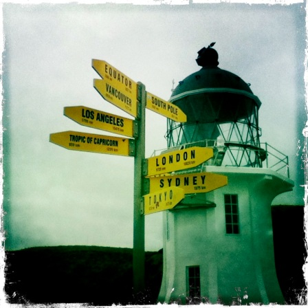 Around The World Directions Lighthouse Cape Reinga