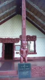 Maori Meeting House Waitangi