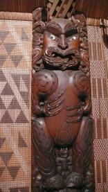 Large Maori Carving