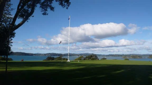 The Spot Where Waitangi Treaty Was Signed