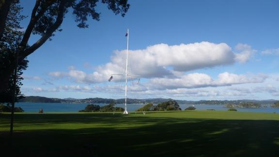 The Spot Where Waitangi Treaty Was Signed